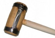 Houten hamer met glasfiber
